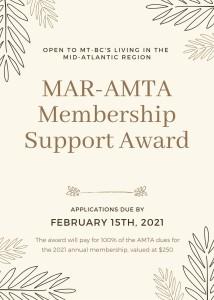 Membership Support Award