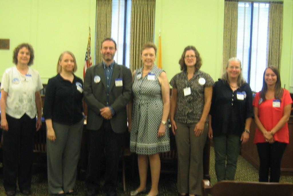 Senate Hill Day Participants