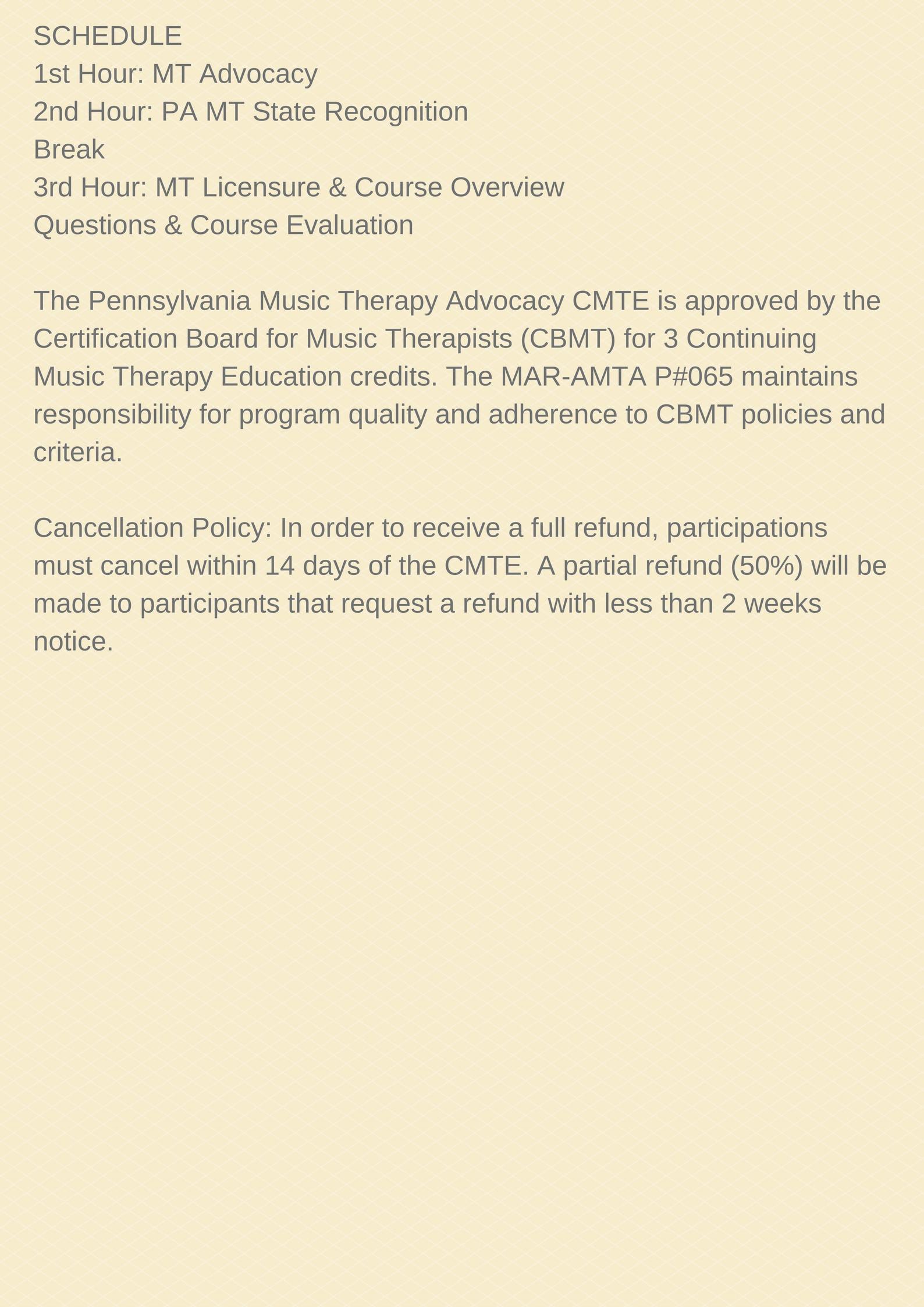 Cmte Date Change For Pa Cmte Mid Atlantic Region Of The American