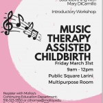 CMTE Opportunity: Music Therapy Assisted Childbirth