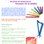 CMTE Opportunity: Boomwhackers, Harp, and Garageband