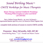 Sound Birthing Music: CMTE Workshops