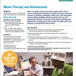 Music Therapy and Adolescents CMTE!