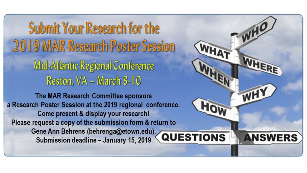 Research Poster Announcement