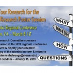 Submit Your Research for the 2019 MAR Research Poster Session