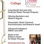 Graduate Music Therapy Program Open House at Molloy College Coming Soon