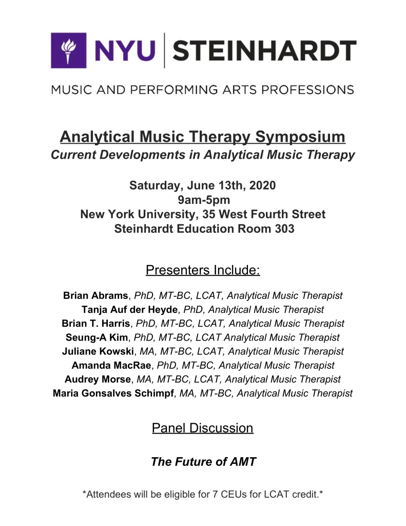 AMT Symposium Save The Date 2020