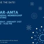 General Membership Meeting on January 31, 2021