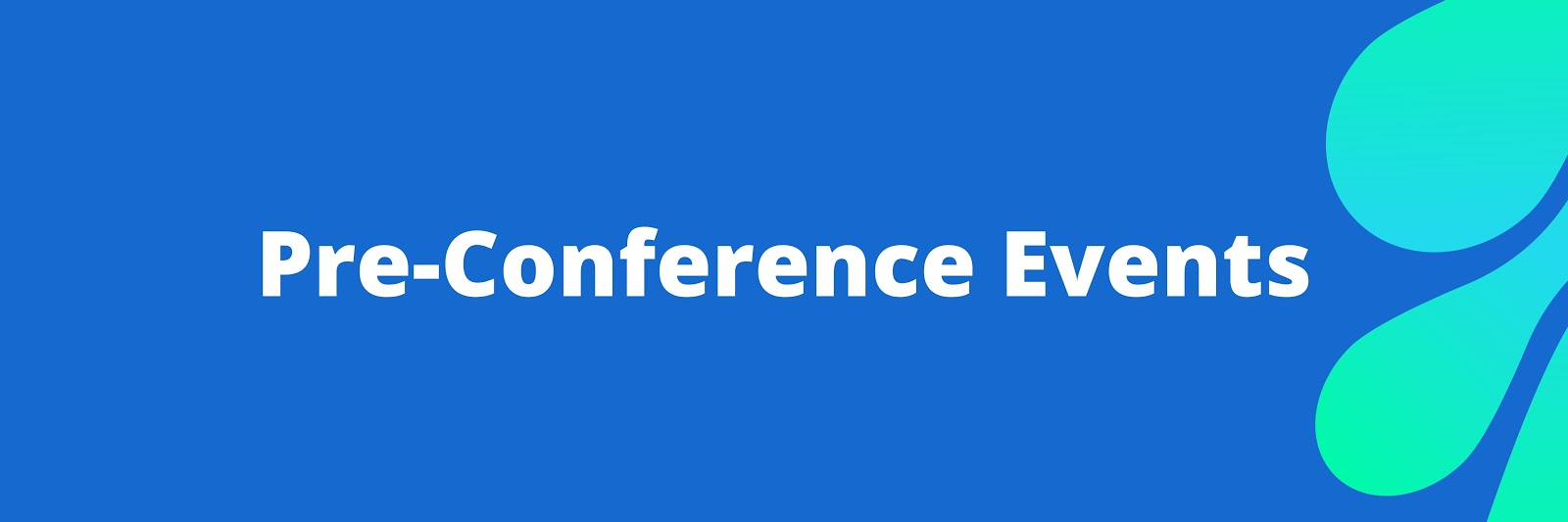 Pre-Conference Events