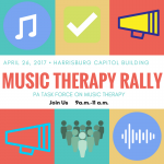 Join the PA Task force for a Music Therapy Rally!