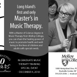 Molloy College Graduate Music Therapy Program Auditions & Information