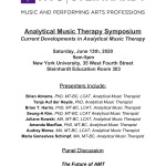 NYU Music Therapy AMT Symposium 2020